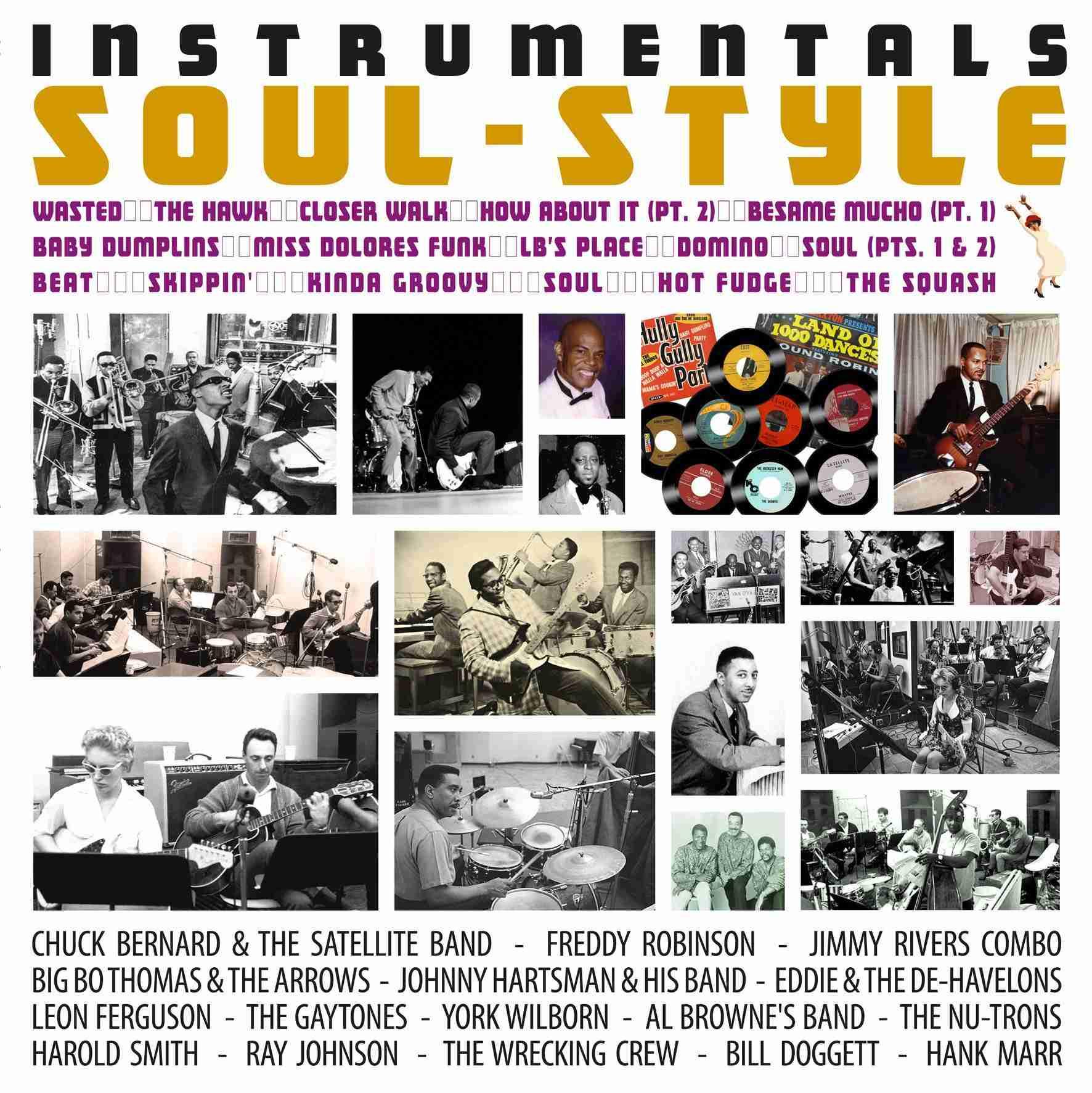 Instrumentals Soul Style LP