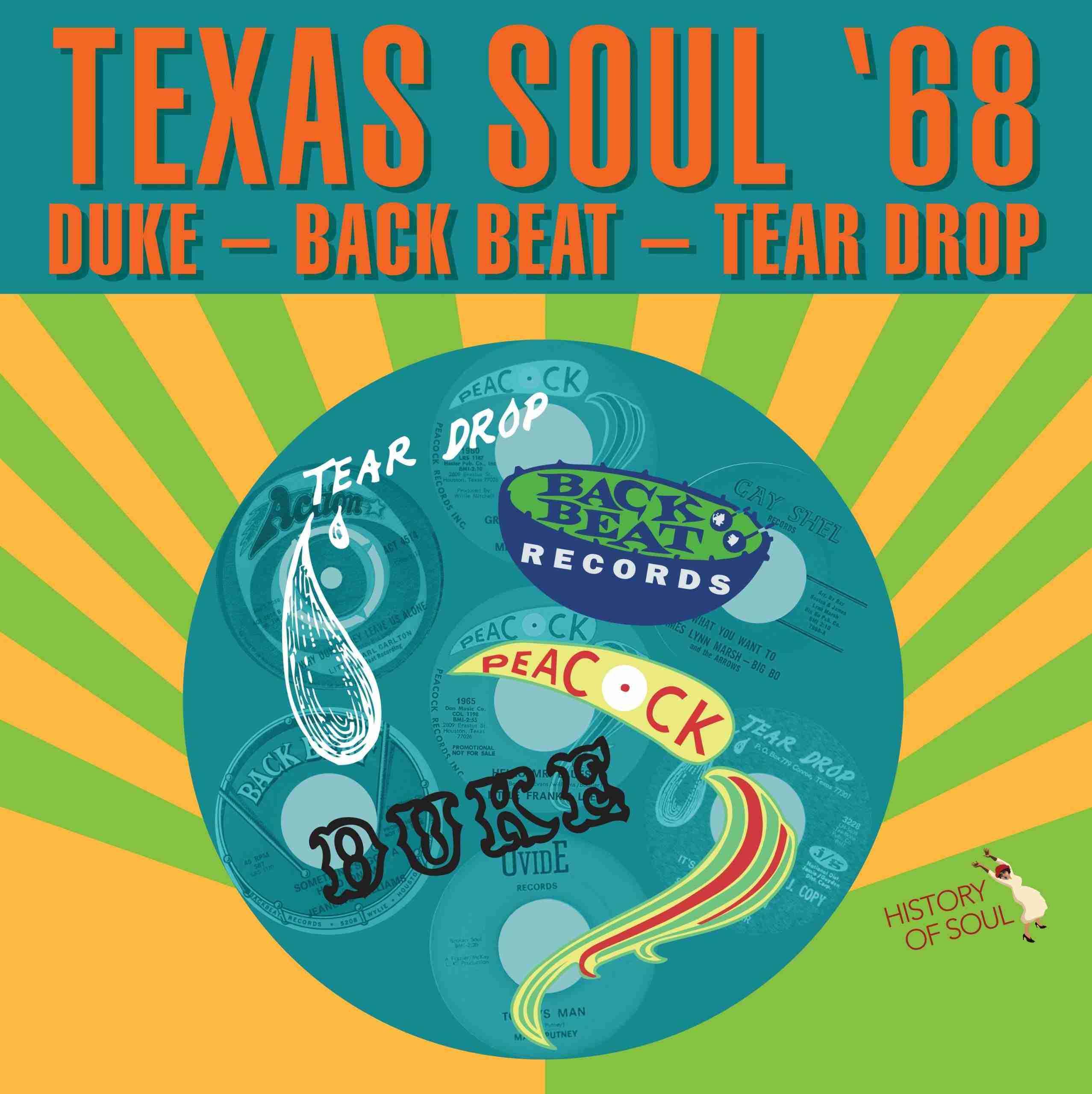 Texas Soul '68 LP