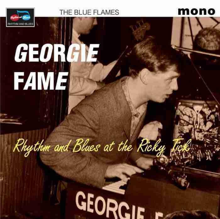 Georgie Flame - Blue Flames