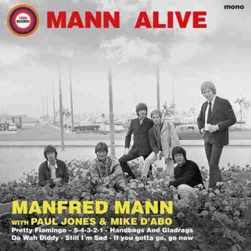 Manfred Mann - Mann Alive LP
