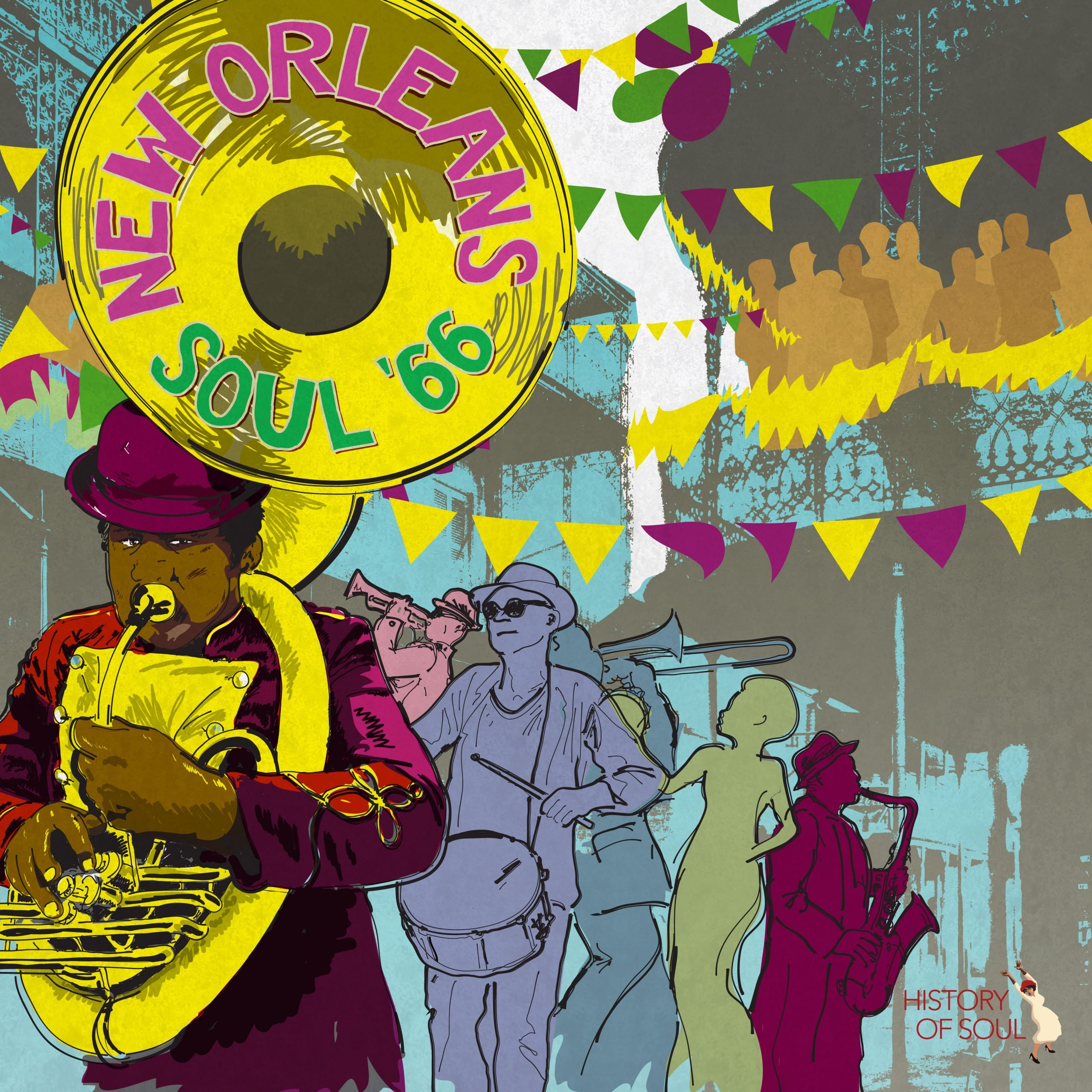 New Orleans '66 LP