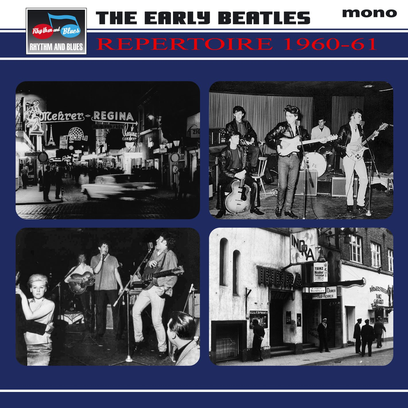 THE BEATLES REPERTOIRE 4 CD