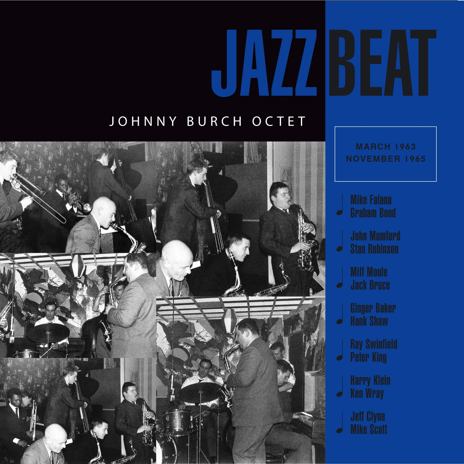 JAZZBEAT - JOHNNY BURCH OCTET CD
