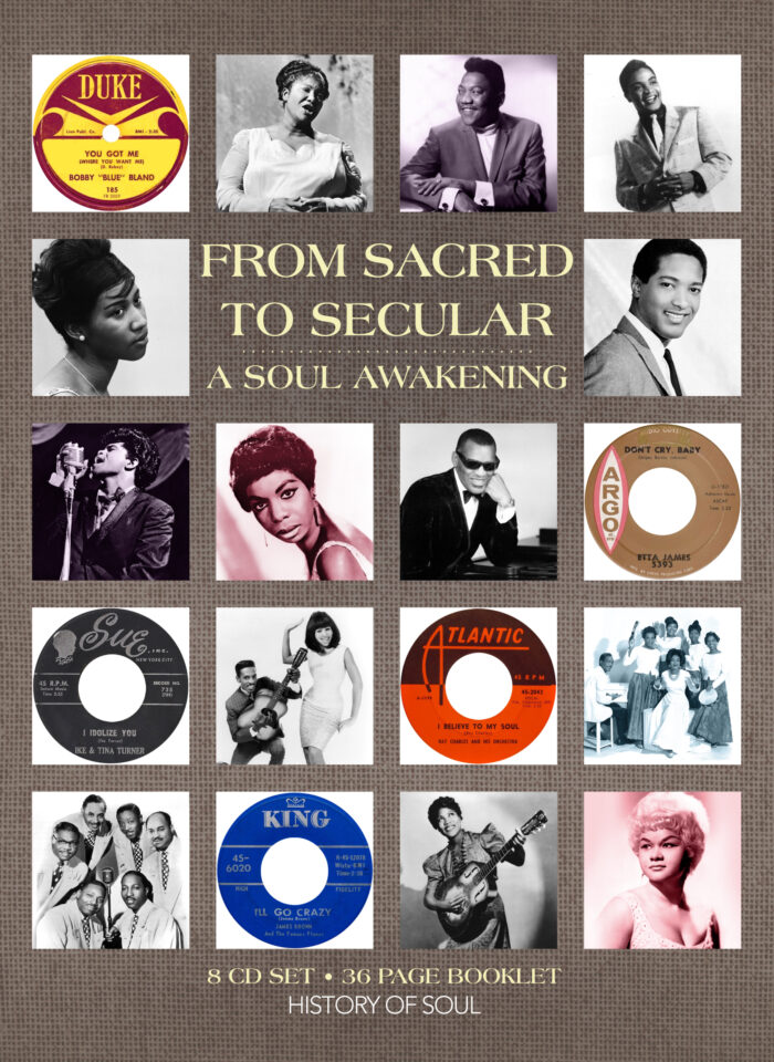Sacred to Secular 8CD
